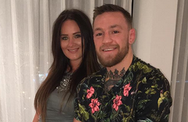 Dee Devlin and Conor McGregor. Image: Instagram