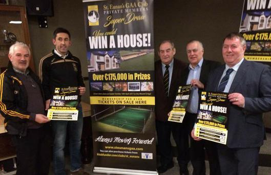 Sign of the times: St Eunan's GAA Club offering house up as a prize
