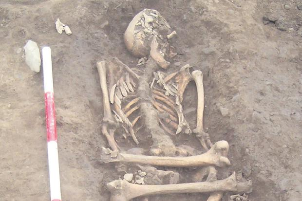 Human remains found during the excavation of the site near Ashbourne, Co Meath