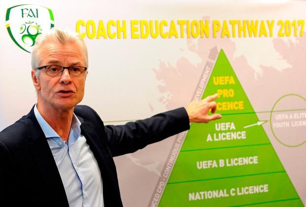 FAI High Performance Director Ruud Dokter. Photo: Sportsfile