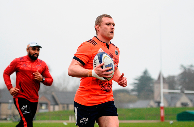 Keith Earls will start against Leicester