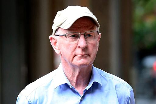 Mr Hickey is accused of being at the centre of an international touting ring in Olympic tickets issued to the OCI, a charge he strongly denies. Photo: Steve Humphreys