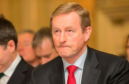 Taoiseach Enda Kenny said there were no plans to introduce new pensions legislation forcing solvent companies to support defined benefit pension schemes. Photo: Gareth Chaney Collins