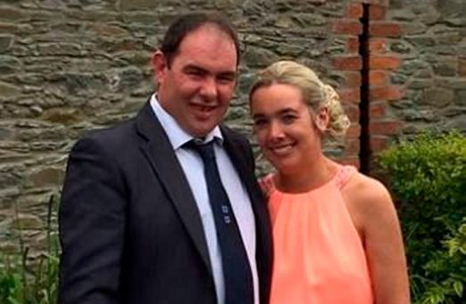 Mr McCaffrey with his wife Helen