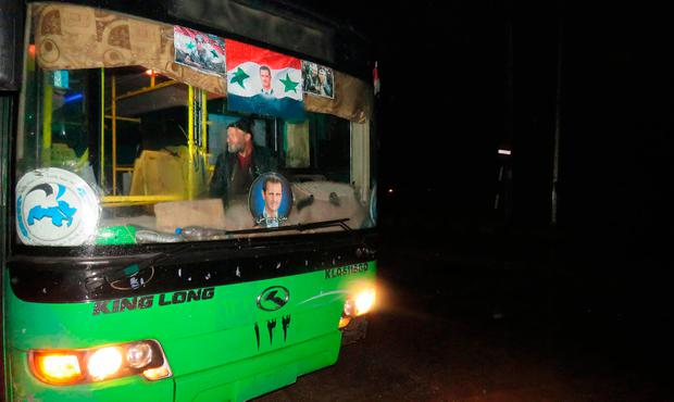 Civilians and rebel fighters were to start evacuating from Syria's Aleppo
