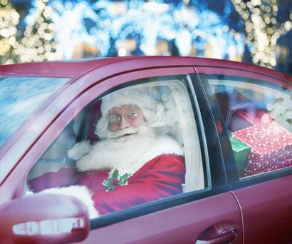Plan your itinerary when driving home for Christmas
