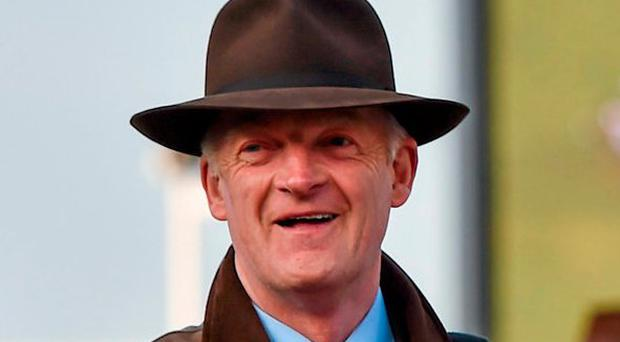 Trainer Willie Mullins. Photo: Seb Daly / Sportsfile