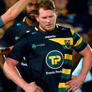 Northampton Saints' Dylan Hartley Picture: PA