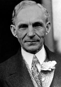 Find a remedy: Henry Ford Picture: Getty