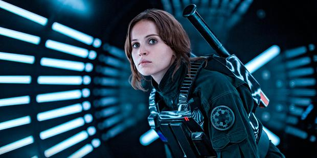 Felicity Jones as Jyn in 'Rogue One'