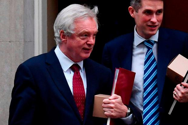"Mr Davis told the House of Commons Exiting the EU Committee that the government was ""determined"" to keep an open border, with no fences and no checkpoints. Photo: AFP/Getty Images"