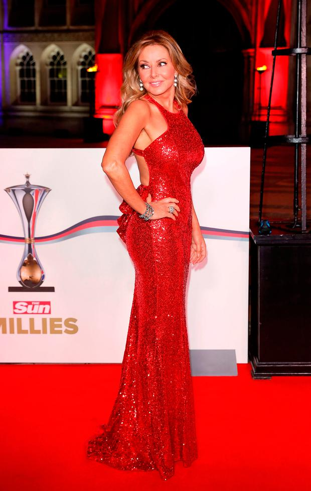 Age-defying Carol Vorderman (54) does her best Jessica Rabbit in a ...