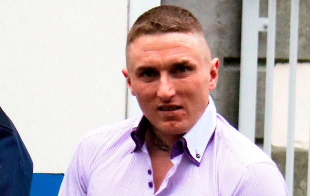 Michael Casey was sentenced to 42 months in jail for burglary and criminal damage