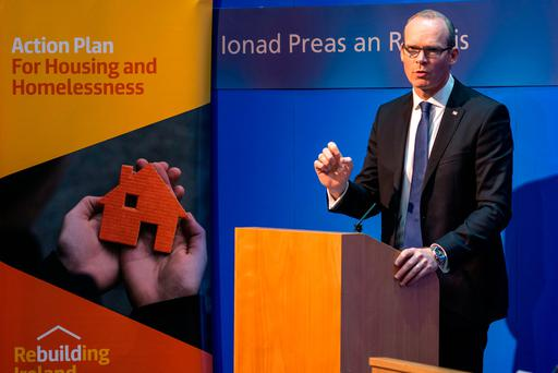 The Department of Housing has confirmed rent certainty measures in the Government's 'Strategy for the Rented Sector' would effectively freeze rents once the legislation was passed. Photo: Doug O'Connor