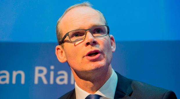 Simon Coveney. Photo: Gareth Chaney Collins