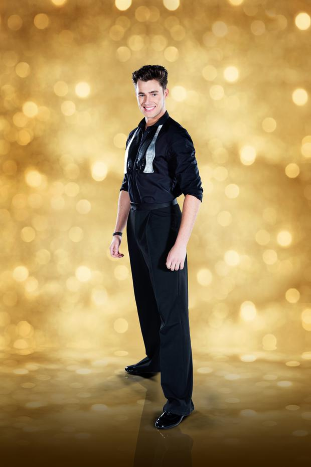 Curtis Pritchard. Image: Dancing With the Stars. RTE One