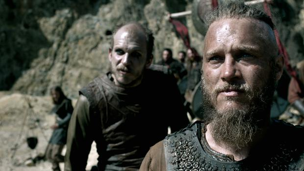 A scene from Vikings, season 2.