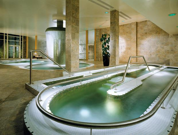 The Hydrotherapy pool at Fota Island Resort