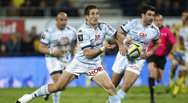 CLERMONT-FERRAND, FRANCE - DECEMBER 27: Johan Goosen of Racing 92 in action during the Top 14 rugby match between ASM Clermont Auvergne and Racing 92 at Stade Marcel Michelin on December 27, 2015 in Clermont-Ferrand, France. (Photo by Jean Catuffe/Getty Images)
