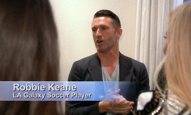 Robbie Keane on Real Housewives of Beverly Hills
