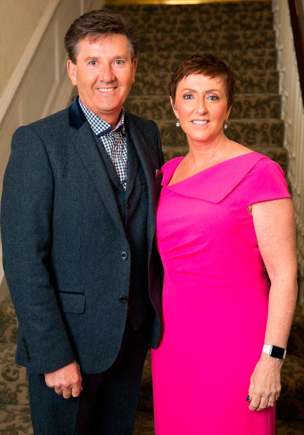 Kiss and tell: Daniel and Majella O'Donnell