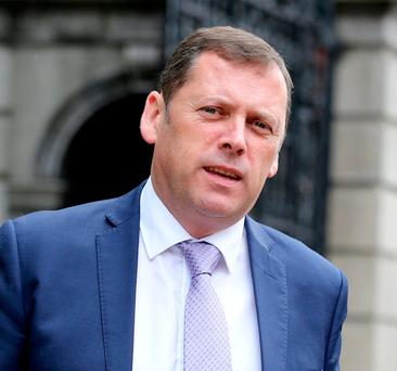 Demands: Fianna Fáil housing spokesman Barry Cowen. Photo: Tom Burke