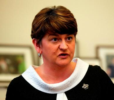 Northern Ireland First Minister Arlene Foster. Photo: Niall Carson/PA Wire