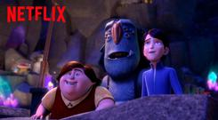 Animated fun with Trollhunters