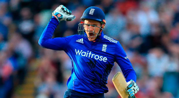 Eoin Morgan returning to cricket for the first time since the end of last summer. Photo: Nigel French/PA