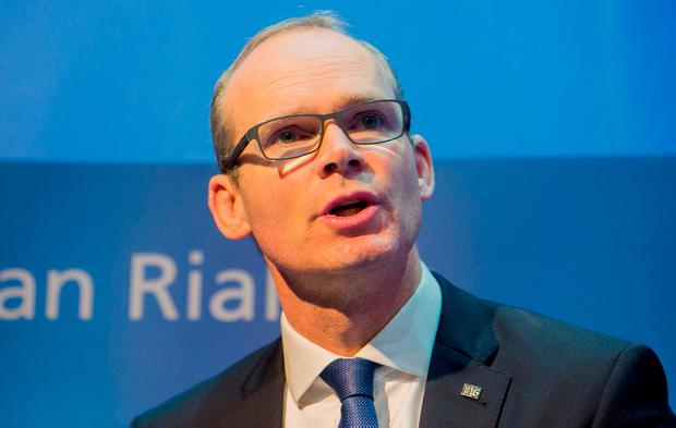 Simon Coveney chose a bizarre interpretation of New Politics. He decided that it meant that you should try to do your job well and that you might get rewarded for that. Photo: Gareth Chaney Collins