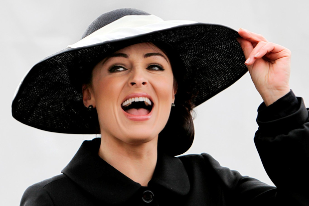 Grainne Seoige. Photo: Steve Humphreys