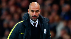 Pep Guardiola has struggled a bit so far this season, but his players need time to adapt to his tactics. Photo: Getty Images