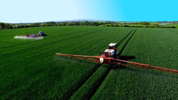 MagGrow uses magnetism to spray crops