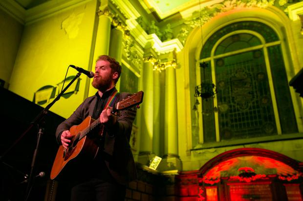 One of the musicians performing during Tradfest in Dublin last year