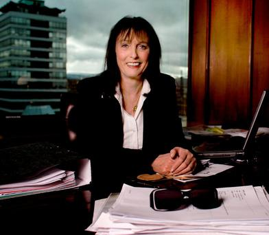 CONFIDENT: Gillian Bowler could command a room full of business people but felt happier at home reading a book. Photo: David Conachy