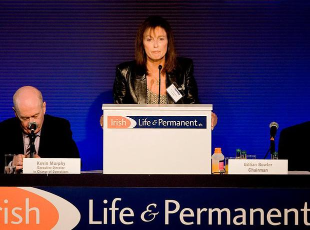 Gillian Bowler in her role as chair of Irish Life & Permanent. Photo: David Conachy
