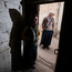 SHELTER: Syrians Fatymah Mamoo (38) and her daughter Zahida (15) at their home in Gaziantep, Turkey. Photo: Mark Condren