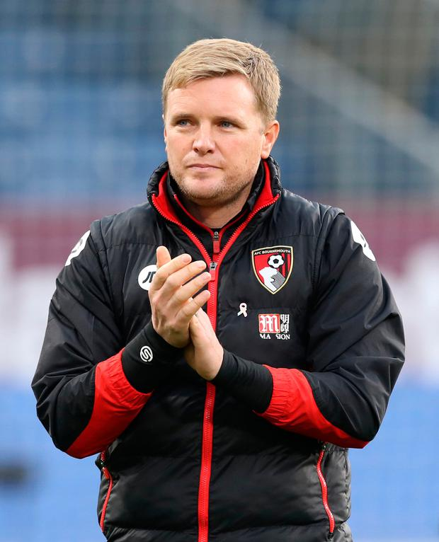 AFC Bournemouth manager Eddie Howe: