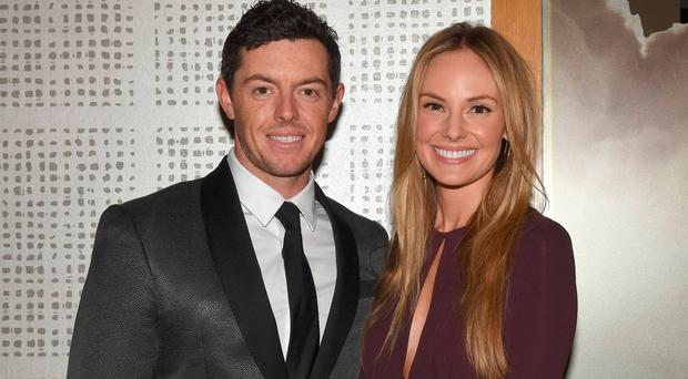 Rory McIlroy and Erica Stoll have sent out their wedding invitations Picture: Cathal Burke / VIPIRELAND.COM