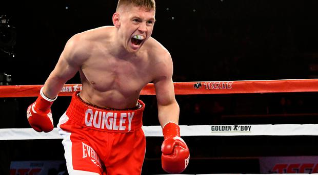 Jason Quigleydefeated Jorge Melendezwith a TKO in the first round