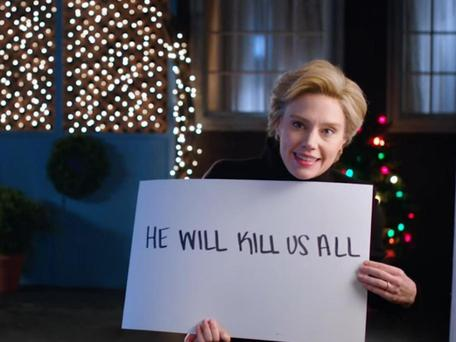 If Donald Trump is elected president... Kate McKinnon does not mince her words on SNL NBC