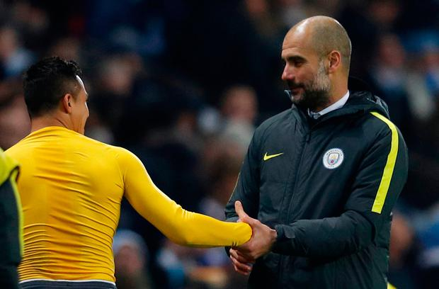 Pep Guardiola is a big admirer of Arsenal contract rebel Alexis Sanchez