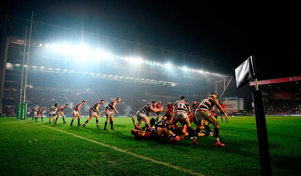 A general view of play during the match. Photo by Laurence Griffiths/Getty Images