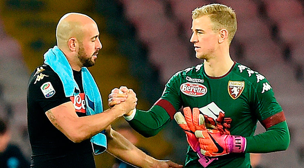Liverpool are reportedly interested in Joe Hart