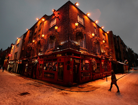 'You don't see them as much now, but every year I notice men wandering around the town searching for an open pub.' Photo: Getty