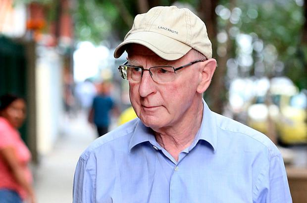 Pat Hickey says he is looking forward to spending Christmas with his family. Photo: Steve Humphreys
