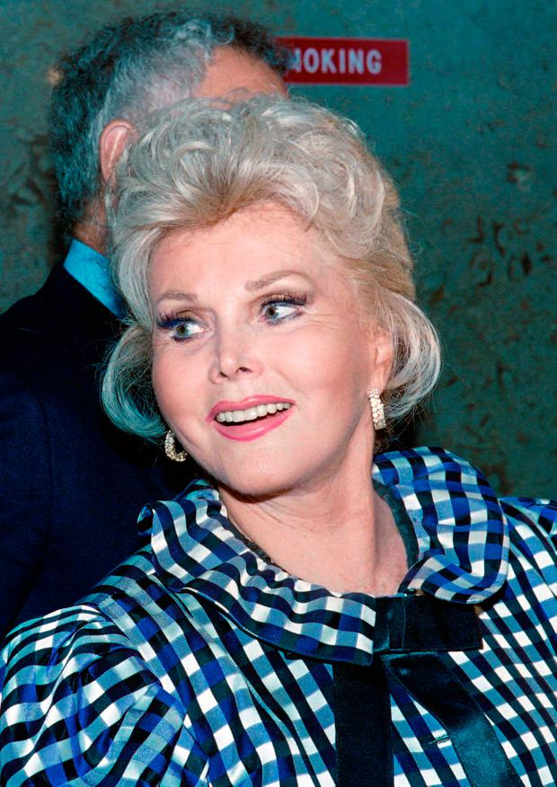 Gabor, one of the last stars of Hollywood's golden age, was not seen in public in her final years. Photo: Getty Images