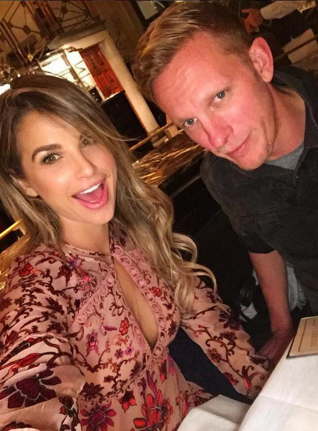 Vogue Williams and Laurence Fox. Picture: Instagram