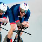 "Wiggins: ""They can never take my package."" Photo credit: Martin Rickett/PA Wire."