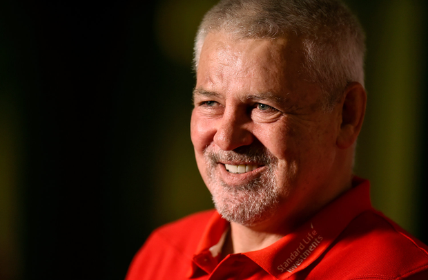 Warren Gatland has insisted that he will not be leaving his post as Wales head coach and returning to work in his native New Zealand following the Lions tour there. Photo by Brendan Moran/Sportsfile